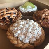 Creamed Baking Company makes their baked goods from scratch. They carry pies, cakes, ice cream and coffee drinks. Next to Reds Eats.