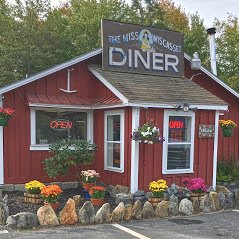 Miss Wiscasset Diner makes traditional and southern diner food made from scratch.