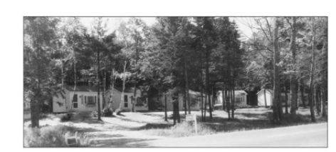 Picture of Wiscasset Woods Lodge circa 1930's found in the book Around Wiscasset: Alna, Dresden, Westport Island, Wiscasset, and Woolwich