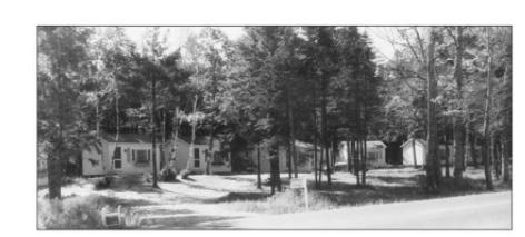 Picture of Wiscasset Woods Lodge circa 1930's found in the book Around Wiscasset: Alna, Dresden, Westport Island, Wiscasset, and Woolwich