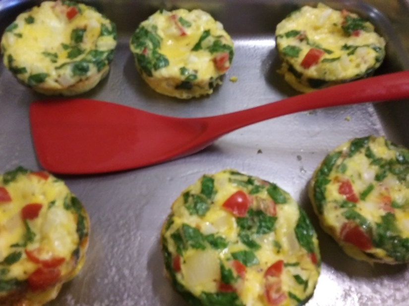 Veggie omlette cups were one of our customers favorite breakfast at Wiscasset Woods Lodge