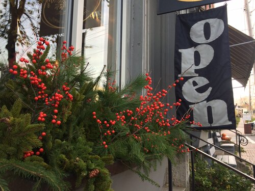 Shops are open in Wiscasset Village for the Wiscasset Holiday Market Fest