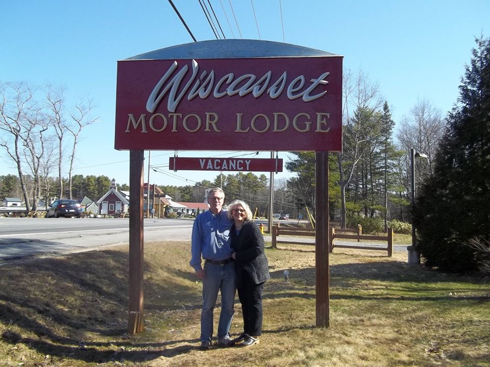Opening day for Wiscasset Woods Lodge back when it was still called Wiscasset Motor Lodge.